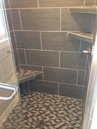 Bathroom tiling and remodeling for 12 inch floor tile
